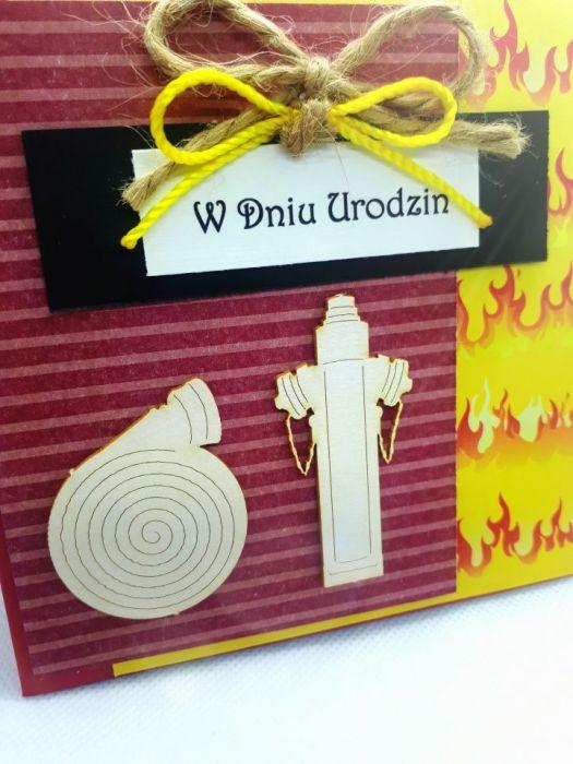 Kartka dla strażaka urodziny Dzień Strażaka #1