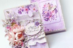 Ślubna w fioletach