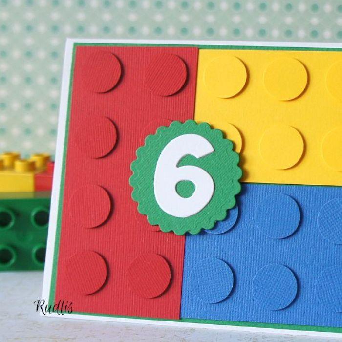 Klocki Lego Urodzinowe życzenie Art Rudlis
