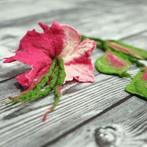 Naszyjnik z ficu Kwiatowy