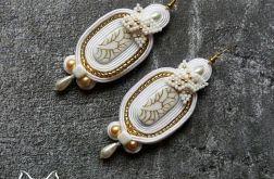 Ciara - ślubne kolczyki sutasz
