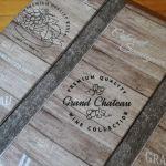 Cztery siedziska  dla amatorów wina -