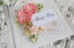 Ślubna kartka w pudełku 54