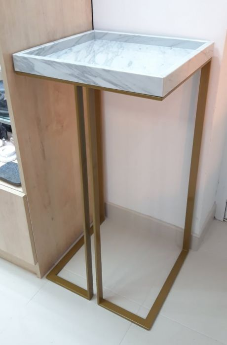 Stolik marmurowy Consola Tray 60