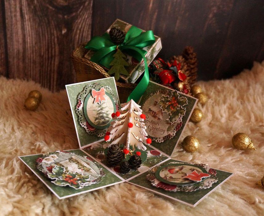 Świąteczne pudełko na upominek #3