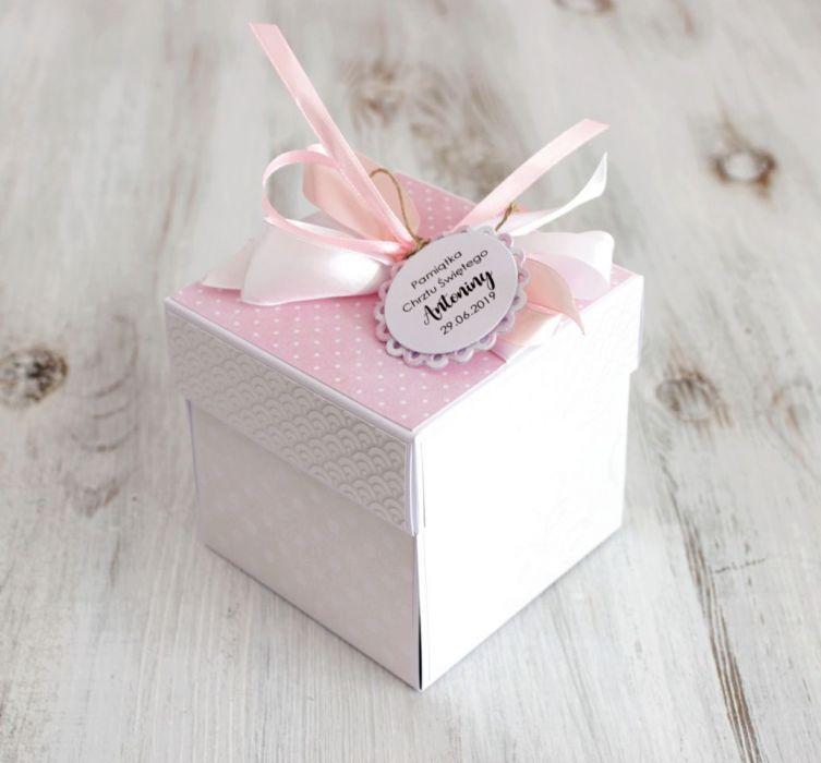 Pudełko - exploding box - Chrzest