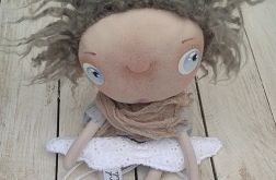ANIOŁEK - lalka tekstylna,cute angel 13, OOAK