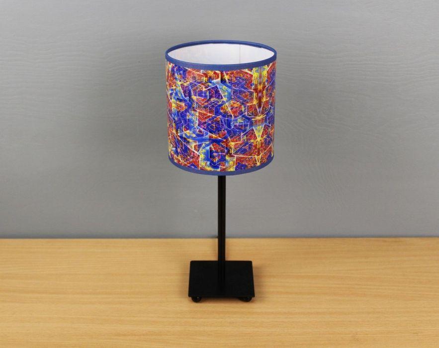 Czerwono-niebieska lampa sEN kOSIARZA 3 S
