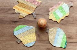 Jesienne liście – podkładki