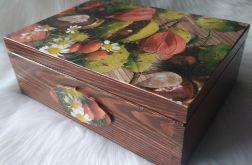 duża jesienna szkatułka