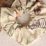 Gumka do włosów safari motyw zwierzęcy - Modna frotka do fryzur
