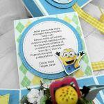 Box z minionkiem niebieski UDP 025 - Box z minionkiem niebieski urodziny (3)