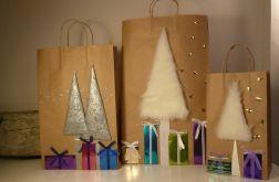 Torebki do pakowania prezentów- 3 sztuki