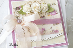 Kartka ślubna w pudełku v.3