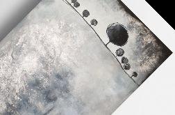 Drzewa-obraz akrylowy formatu 60/90 cm
