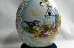 """Jajko ażurowe """"Ptaki"""" 17cm"""