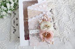 Ślubna kartka kaskadowa w pudełku 351