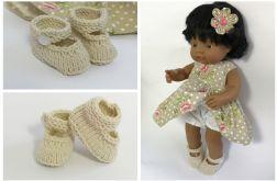 Buciki dla lalki Miniland 38 cm