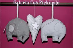dekoracje na okna zawieszki SŁOŃ słoniki