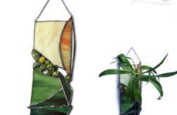 Zielony zakątek + mini-wazonik