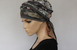 turban letni STALOWY