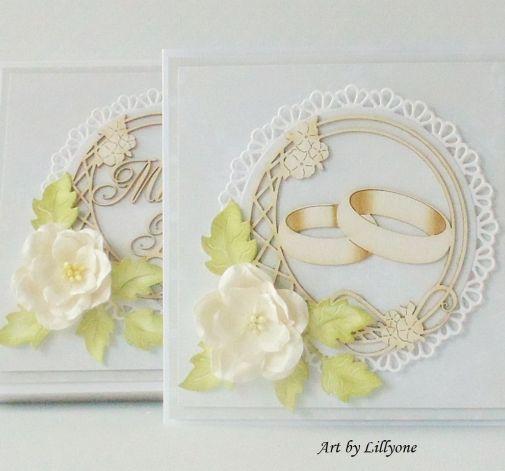 Kartka na ślub w pudełku # 18b