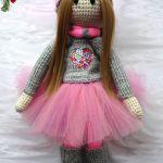 Lalka ręcznie robiona, lalka hand made