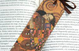 Zakładka - Klimt, fragment obrazu