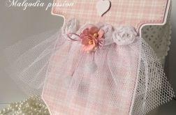 Kartka sukieneczka Chrzest św.