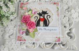 Ślubna kartka w pudełku 36