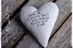 Love is ... - cottage home vintage & retro