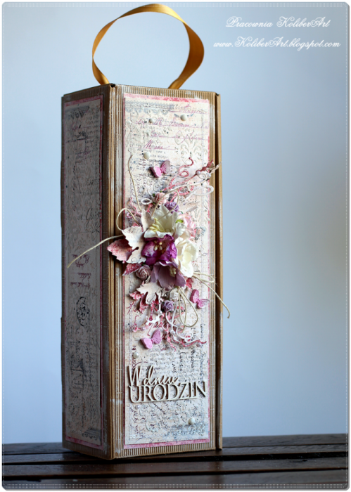 Oryginalne Pudełko na Wino Urodzinowe #5