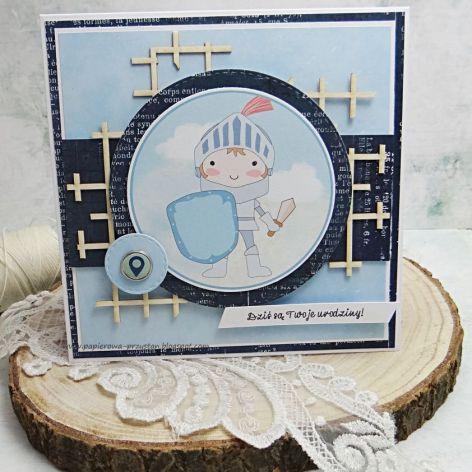 Kartka dla maluszka- z kopertą 2