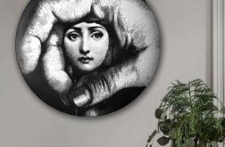 Piero Fornasetti - Obraz w okrągłej ramię