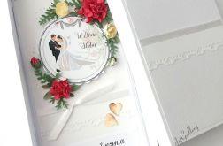 ZAKOCHANI - kartka na ślub