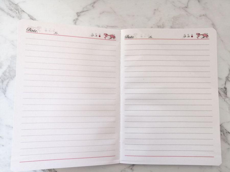 Notes w filcowej okładce,czerwony.