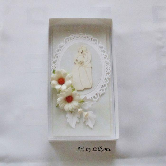 Kartka na ślub w pudełku # ś14
