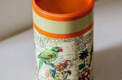 Puszka dla miłośnika papug