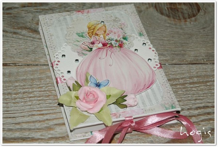 Hogisowy notesik z księżniczką