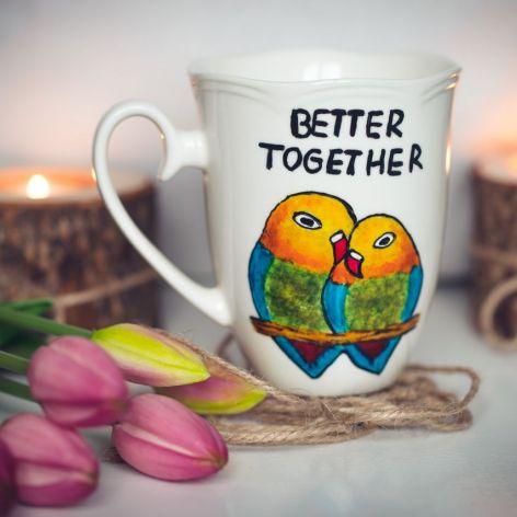 Kubek papugi - Better Together
