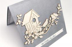 Kartka ślubna --domek 1