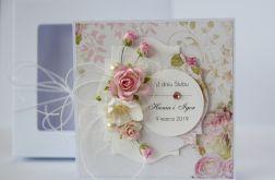 Kartka ślubna z personalizacją + pudełko 10