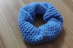 Gumka do włosów niebieska