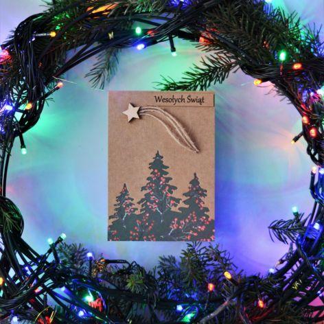 Kartka świąteczna - Boże Narodzenie - wzór 018