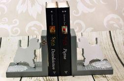 Podpórki do książek - west terrier