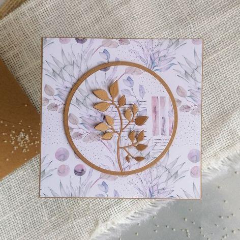 Minimalistyczna kartka w stylu eko
