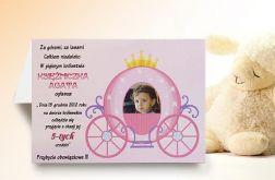Zaproszenie na urodziny dziecka ze zdjęciem na 2,3,4,5,6,7,8,9 itd Karoca