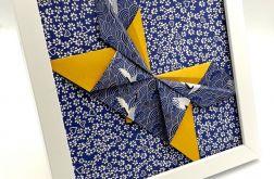 Obrazek origami ścienny/ do postawienia Motyl