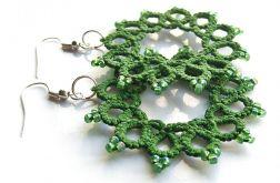 zielone frywolitki