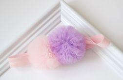 FairyBows * opaska * dwa pompony